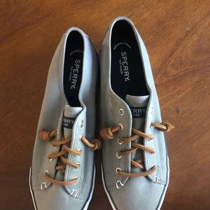 Women's Grey Sperry's